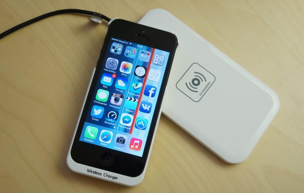 Беспроводная зарядка для iOS и Android