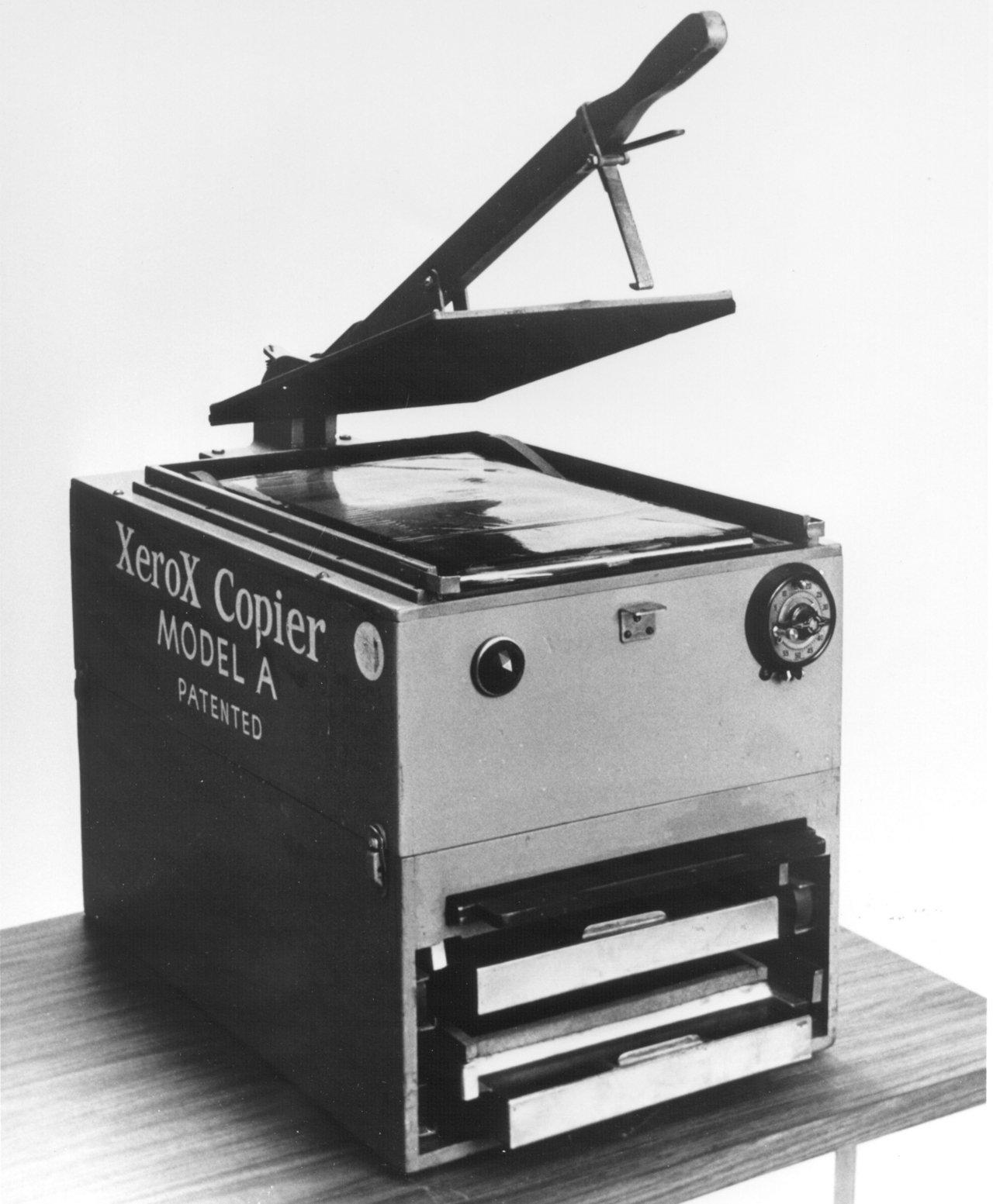 Самый первый принтер
