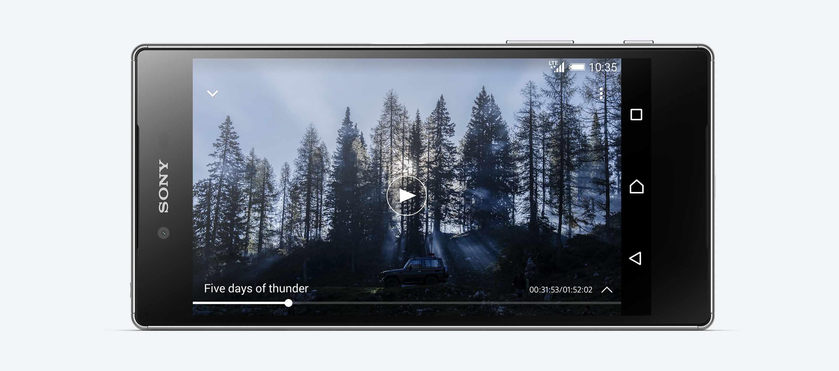Видео на Sony Xperia Z5