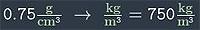конвертер плотности пример